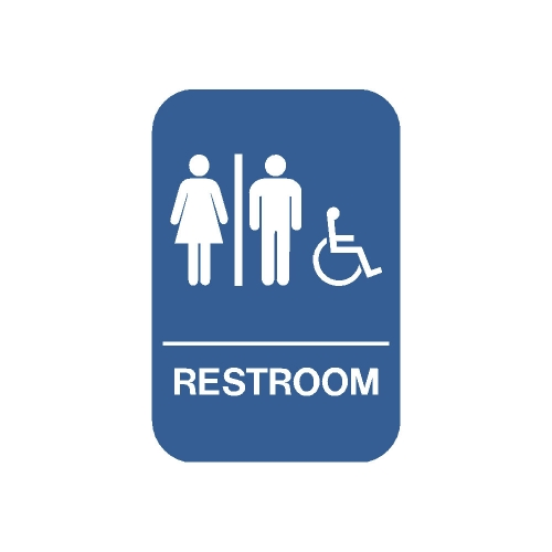 20529 ada restroom men women handicapped