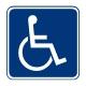 D9-6 Handicapped Symbol