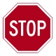 R1-1 24'' Stop Sign