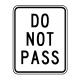 R4-1 Do Not Pass