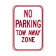 R7-20 No Parking Tow Away Zone