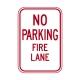 R8-31 No Parking Fire Lane
