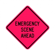 Emergency Scene Ahead Rollup