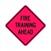 Fire Training Ahead Rollup