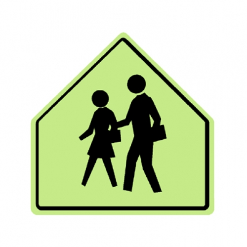 School Symbol S1-1 school zone symbol