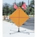 DL1000 Compact Roll-up Sign Stand Rigid