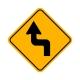 W1-3L Reverse Left Turn