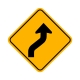 W1-4R Reverse Right Curve