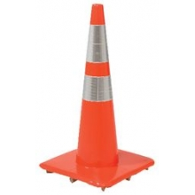 28'' 7lb Reflective Traffic Cones