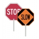 Stop/Slow Paddle