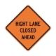 W20-5R Right Lane Closed