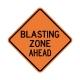 W22-1 Blasting Zone