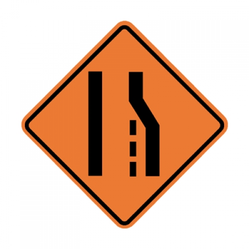 w42r right lane ends