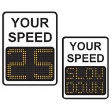 """9"""" Radar Driver Feedback Sign"""